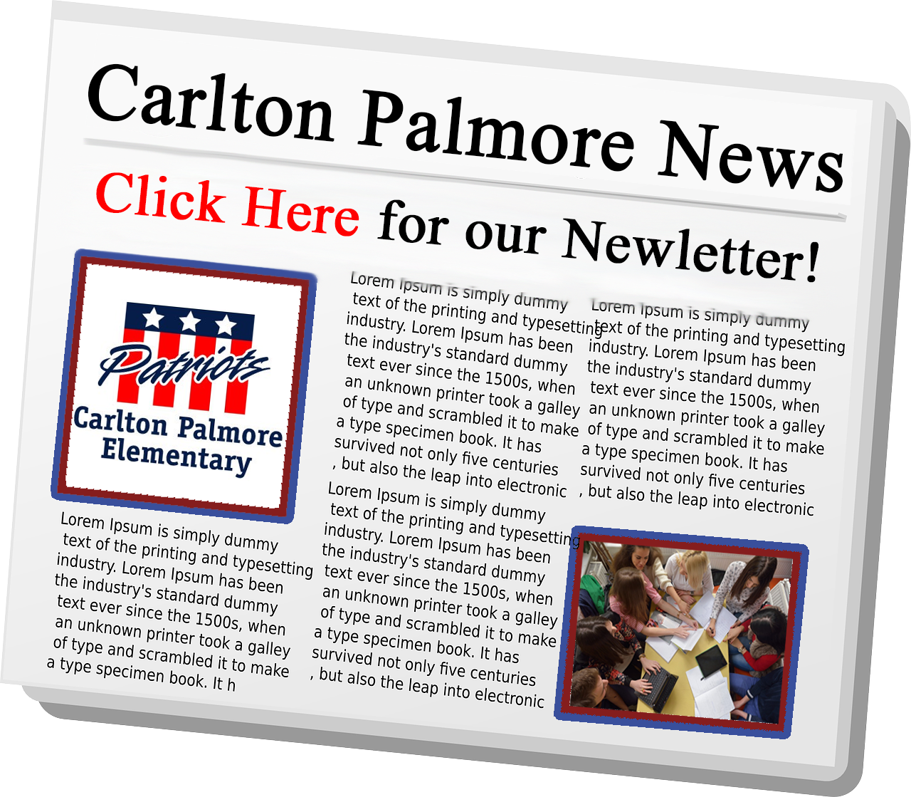 Carlton Palmore Newsletter